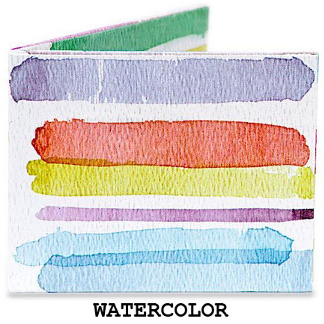 Бумажный Бумажник Mighty Wallet Watercolor