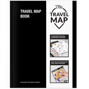 Тетрадь путешествий Travel Map Book