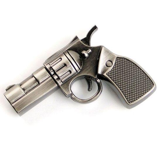 Флешка Револьвер (металл) 16 Гб