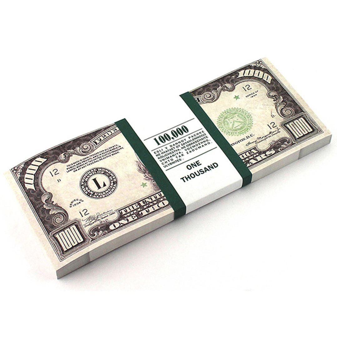 Блокнот Пачка 1000$