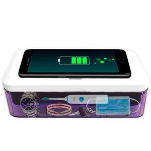 Стерилизатор для смартфона с беспроводной зарядкой UV Sterilizer