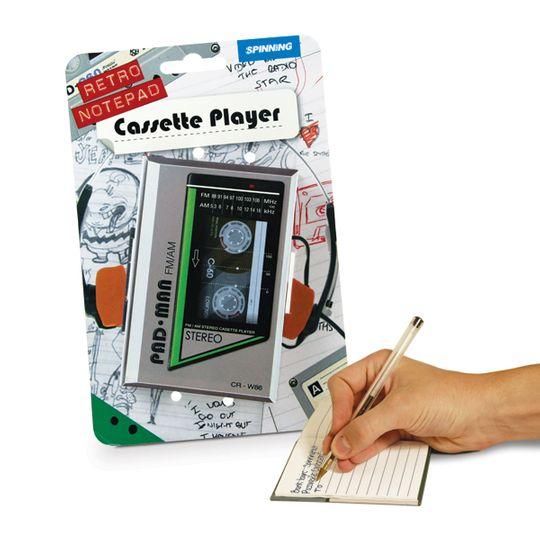 Блокнот Кассета С упаковкой