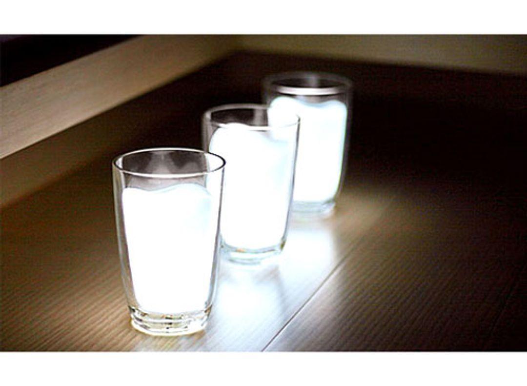 Лампа Стакан молока В комплекте только один светильник