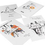 Набор открыток Пушкин: продолжение