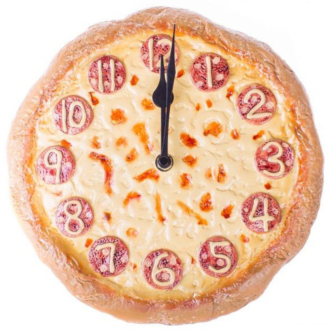 Часы настенные Пицца