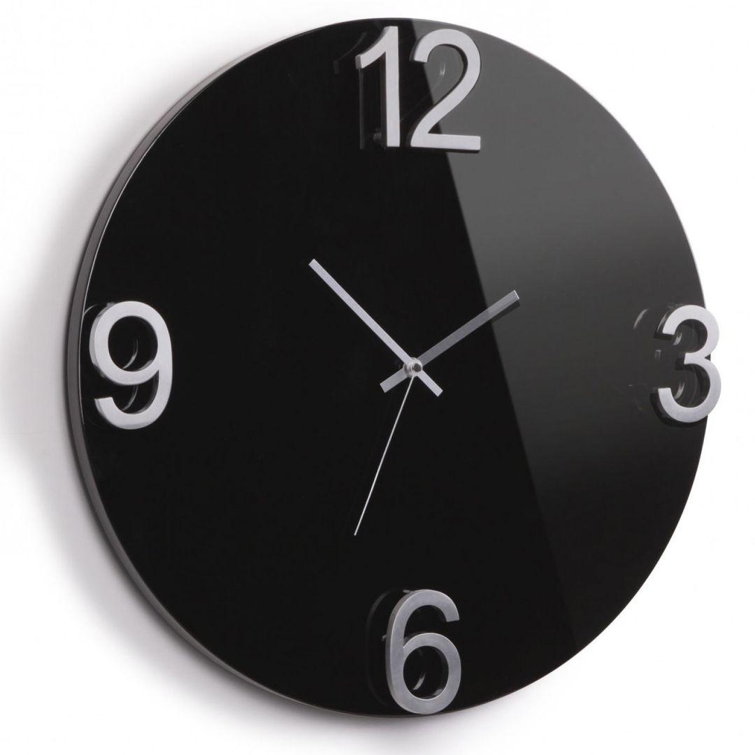 Часы настенные Elapse (Черный)