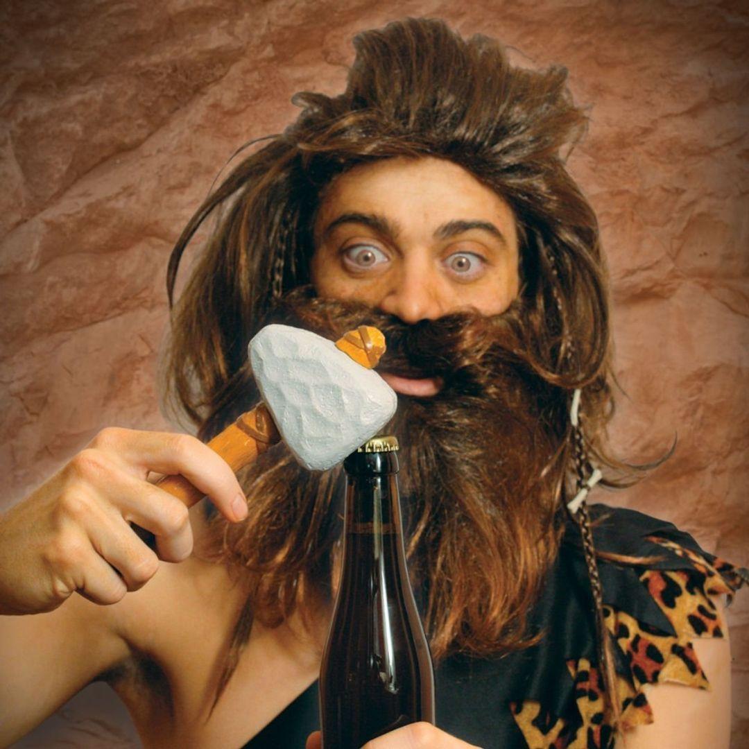 Открывашка Молот пещерного человека Caveman Bottle Opener