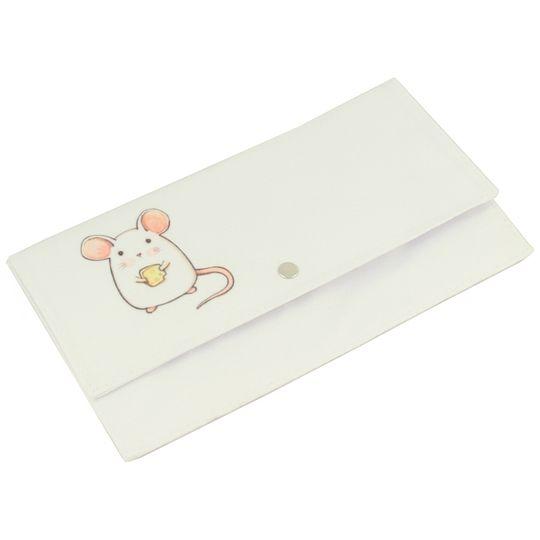 Конверт для путешествий White Mouse Застежка-кнопка