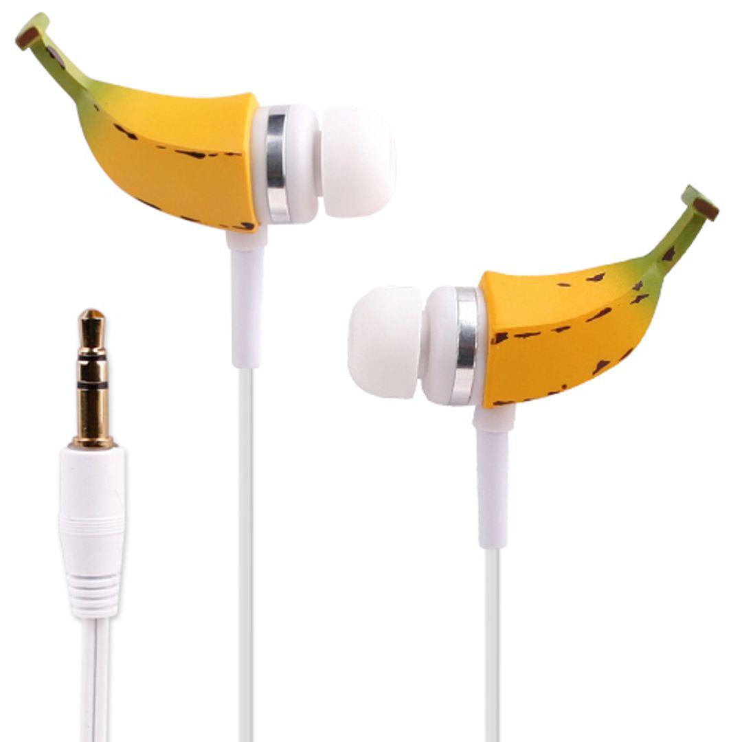 Crazy Earphones Наушники Бананы