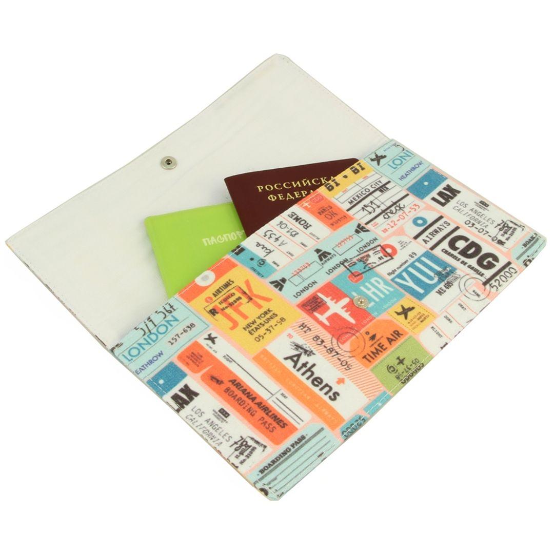 Конверт для путешествий Stamps С документами