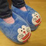 Тапочки с подогревом от USB Кот Doraemon Отзыв