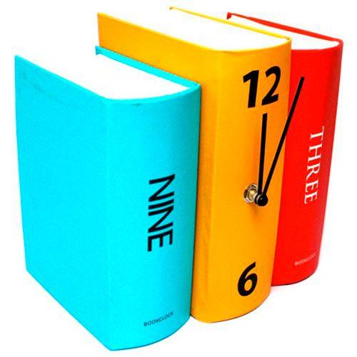 Часы Книги<br>для полки или книжного шкафа