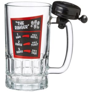 Пивная кружка со звонком Beer Me