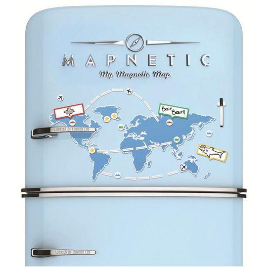 Набор магнитов Мировое турне Mapnetic