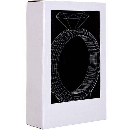3D Лампа Кольцо Упаковка