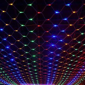 Светодиодная LED гирлянда Сетка (1,5 х 1,5 м)