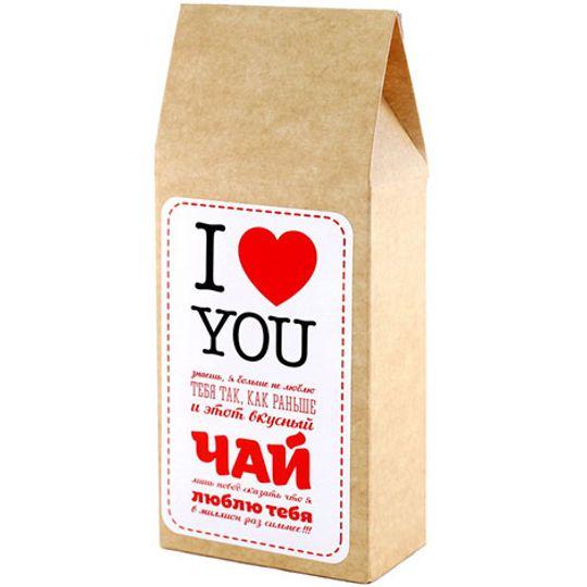Чай Клубника со сливками I love you