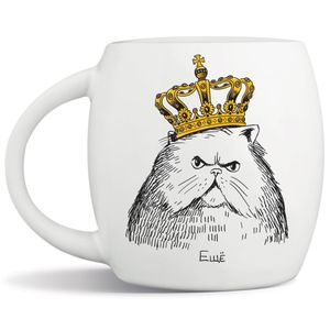 Кружка Кот в короне Еще