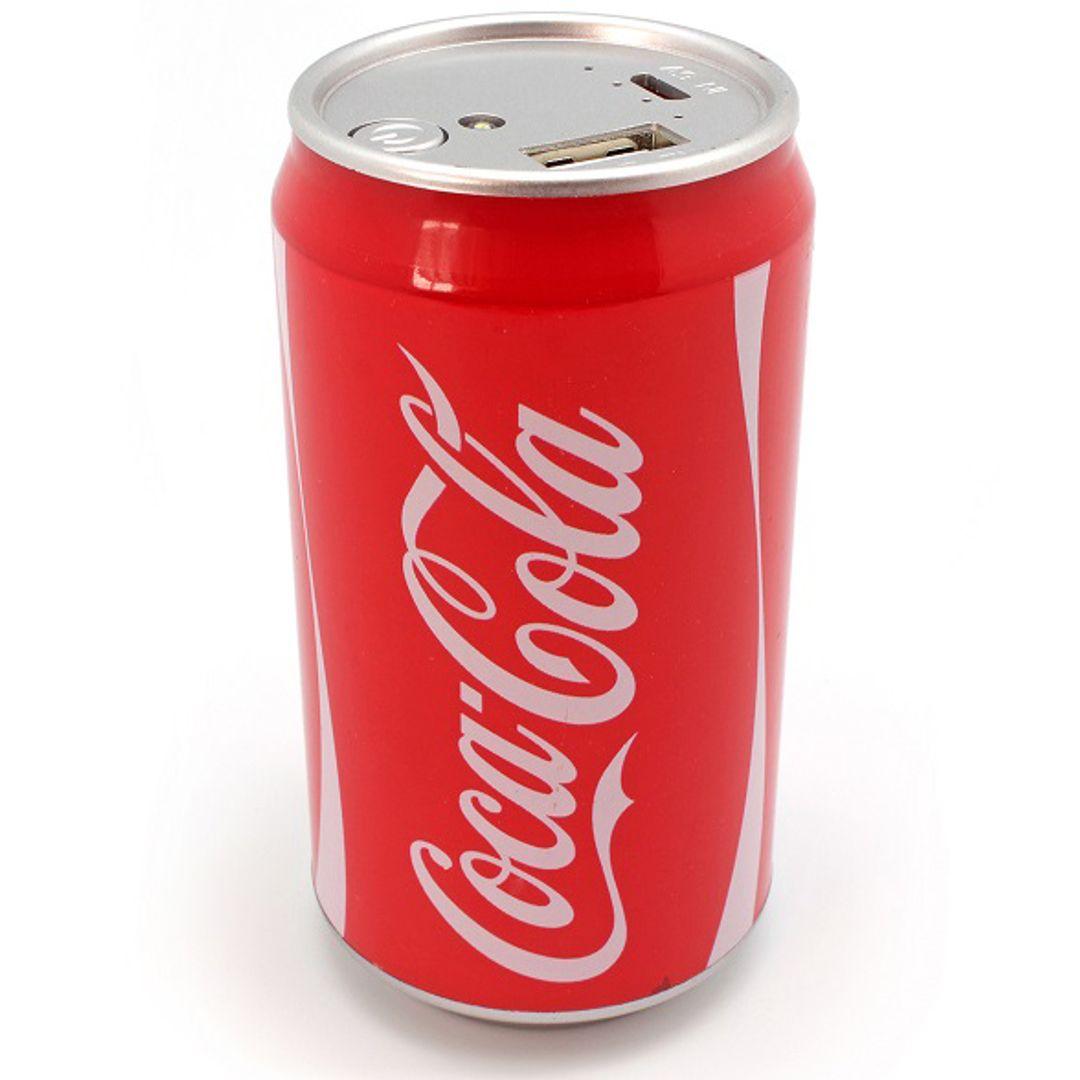 Внешний аккумулятор Power Bank Банка Coca-Cola