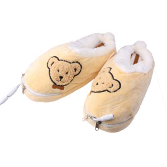 Тапочки с подогревом от USB Медвежата