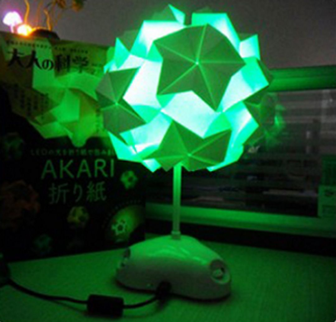 Светильник Конструктор Akari Зеленая подсветка