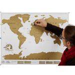 Скретч-карта мира (на английском)