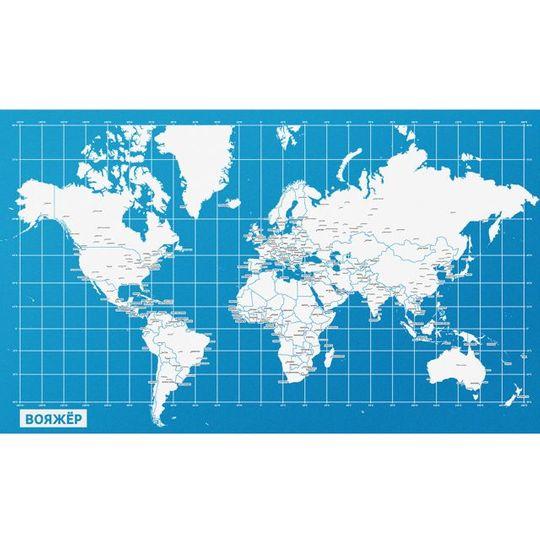 Персональная карта путешествий Вояжер