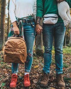 Крафтовые рюкзаки и сумки Ranzel