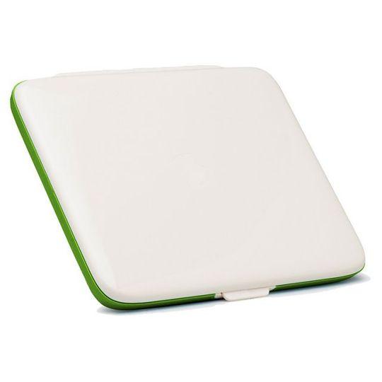 Ланч-бокс FoodBook (Бело-зеленый)