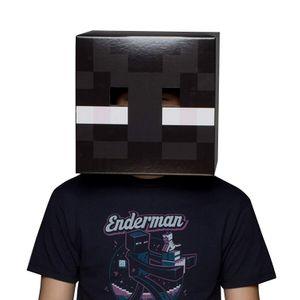 Маска Голова Эндермена Minecraft