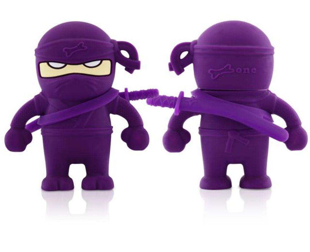 Флешка Ниндзя Фиолетовый 4 Гб