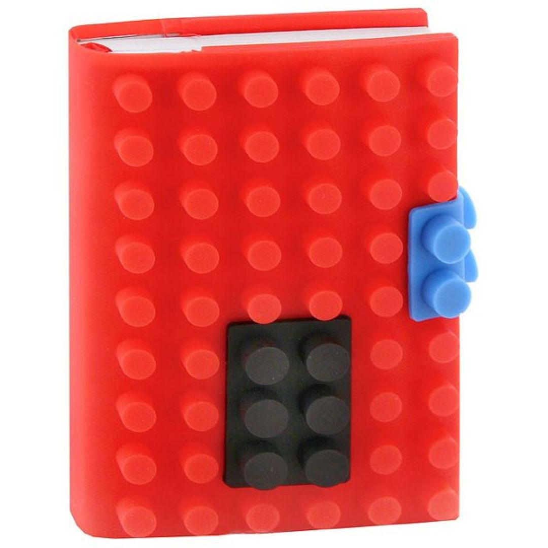 Блокнот Лего Маленький Красный, кружочки
