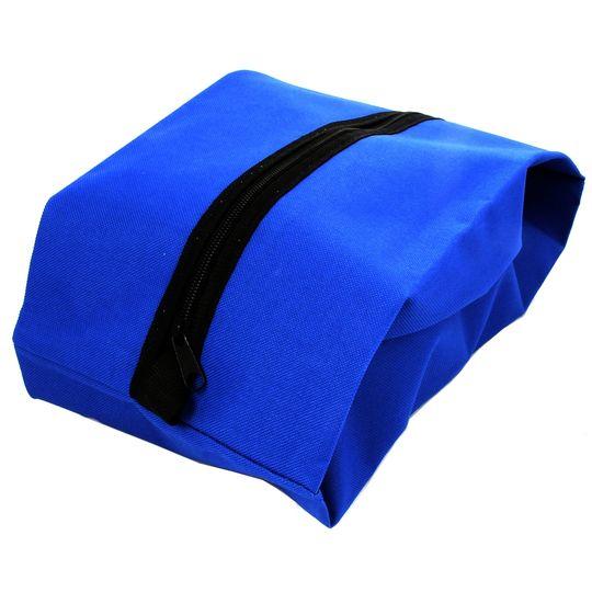 Сумка-чехол для обуви (Синяя) Наполненная