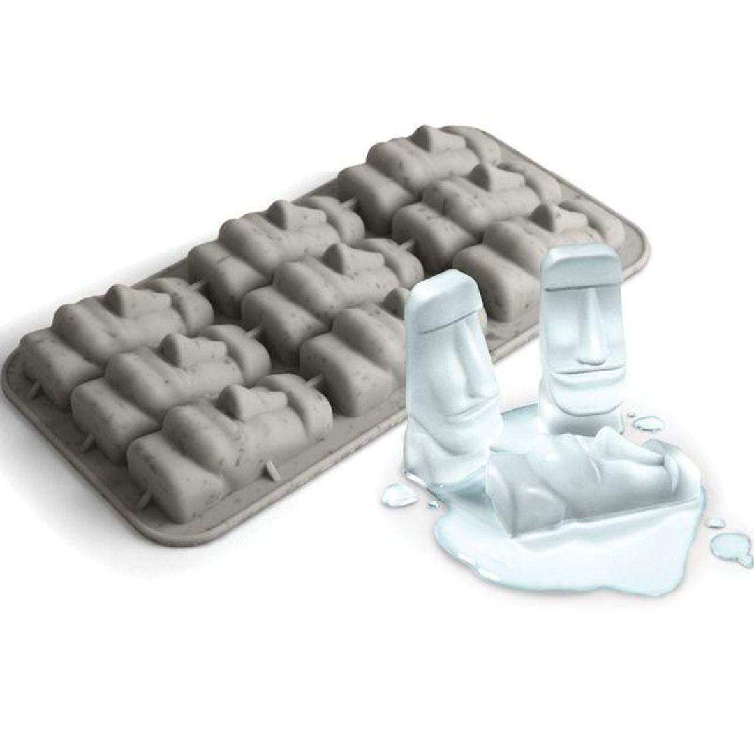 Форма для льда Стоунхендж Stone Cold С льдинками из формы