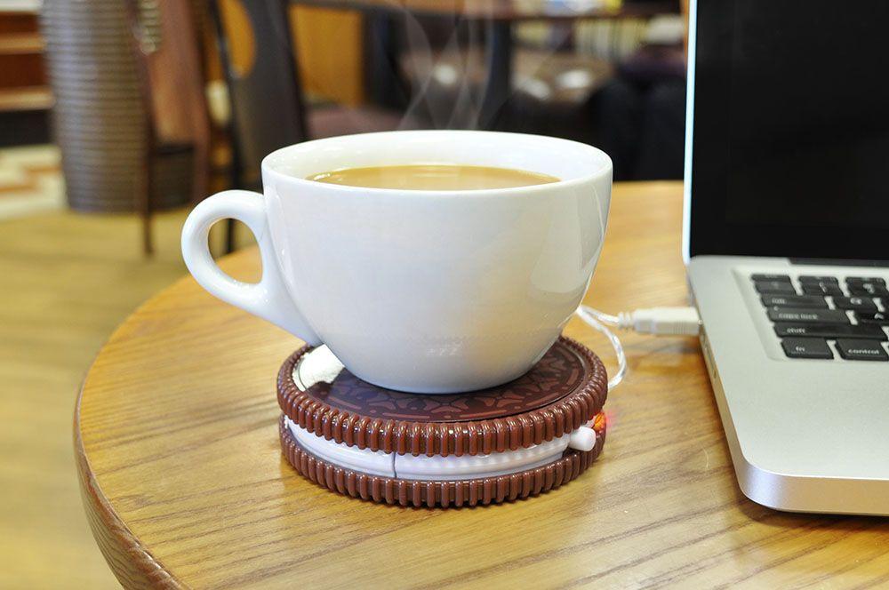 USB Подогреватель для чашки Печенька Hot Cookie купить в магазине Мистер Гик