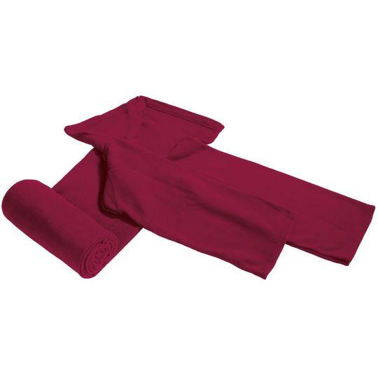Плед с рукавами Бордовый