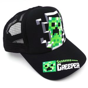 Бейсболка Minecraft Creeper
