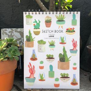 Скетчбук Cactus Love
