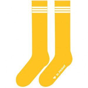 Гольфы Полосатая классика желтые