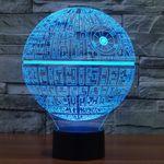 3D Лампа Звезда смерти