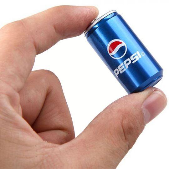 Флешка Банка Pepsi 16 Гб Масштаб