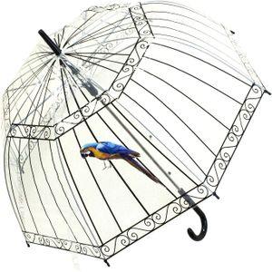 Зонт Клетка с попугаем