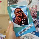 Открытка Star Wars Чубакка Chewbacca Небольшой формат