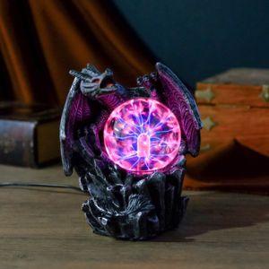 Плазменный шар В объятиях дракона