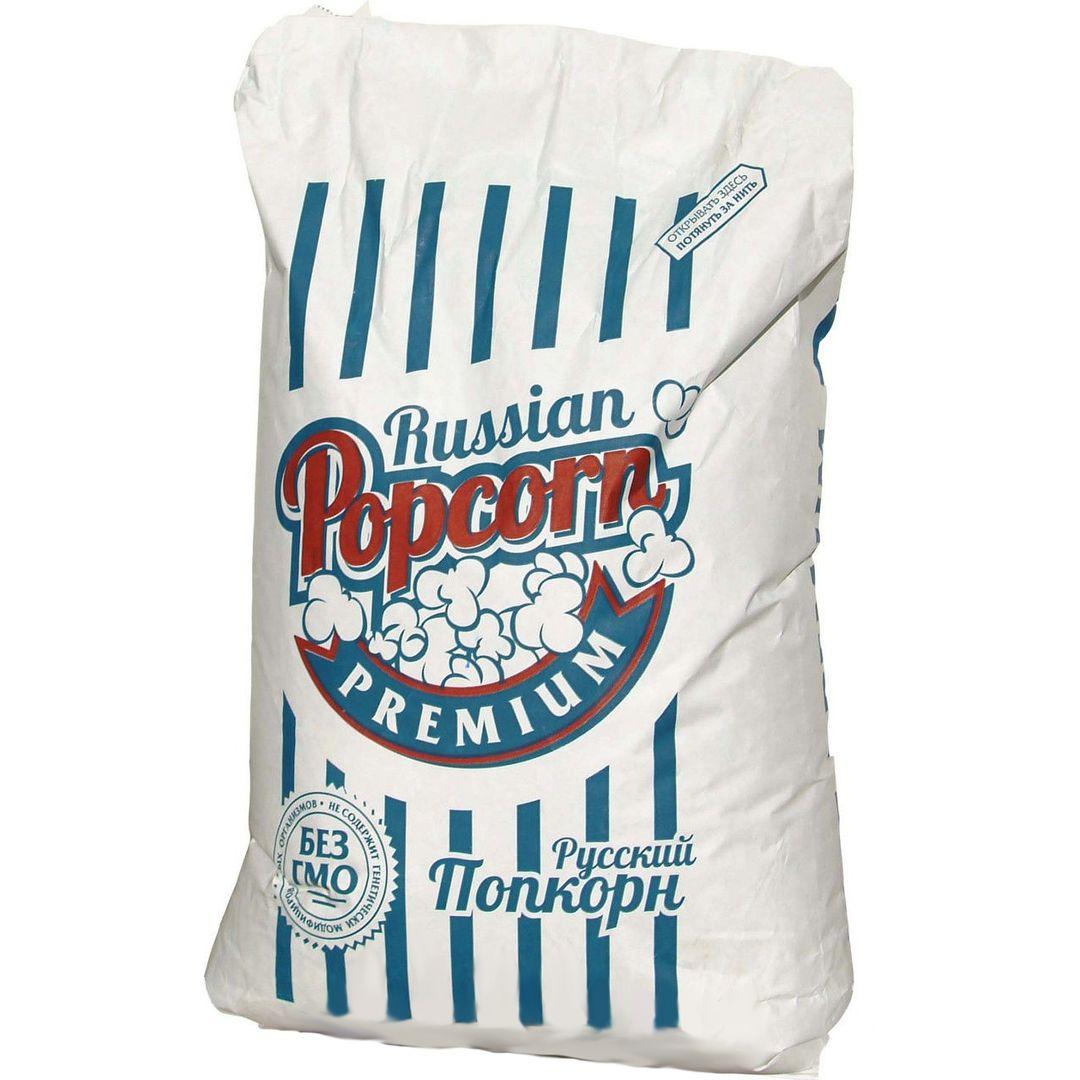 Зерно кукурузы для попкорна Premium (22.68 кг)
