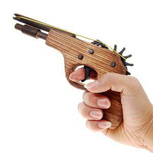 Пистолет, стреляющий резинками