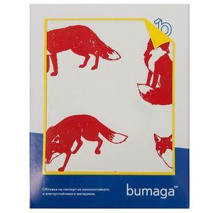 Обложка для паспорта Bumaga Fox