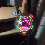 USB Вентилятор с разноцветной подсветкой Отзыв