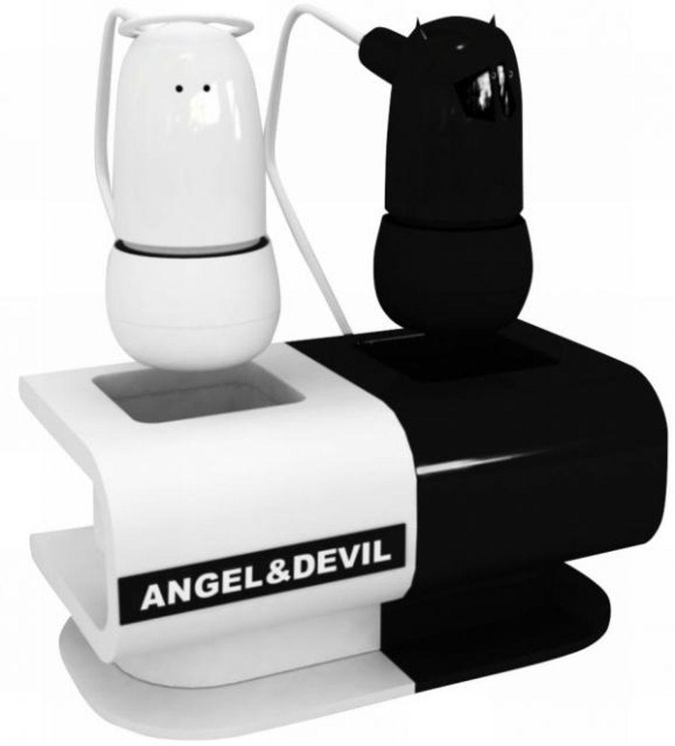 Наушники Ангел и Демон