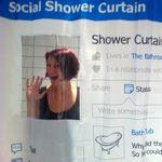 Социальная занавеска Facebook